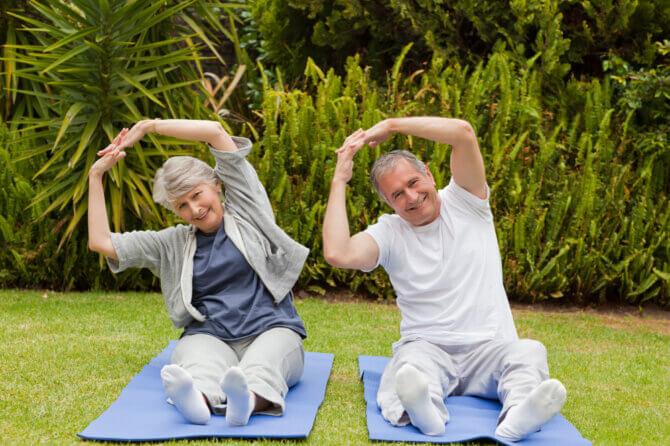 תרגילי מתיחה לשיפור תנועת המפרקים